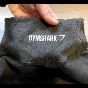 Gymshark - Black Leggings - Sheer Mesh Details - M